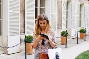 Mobil unterwegs suchen und einkaufen