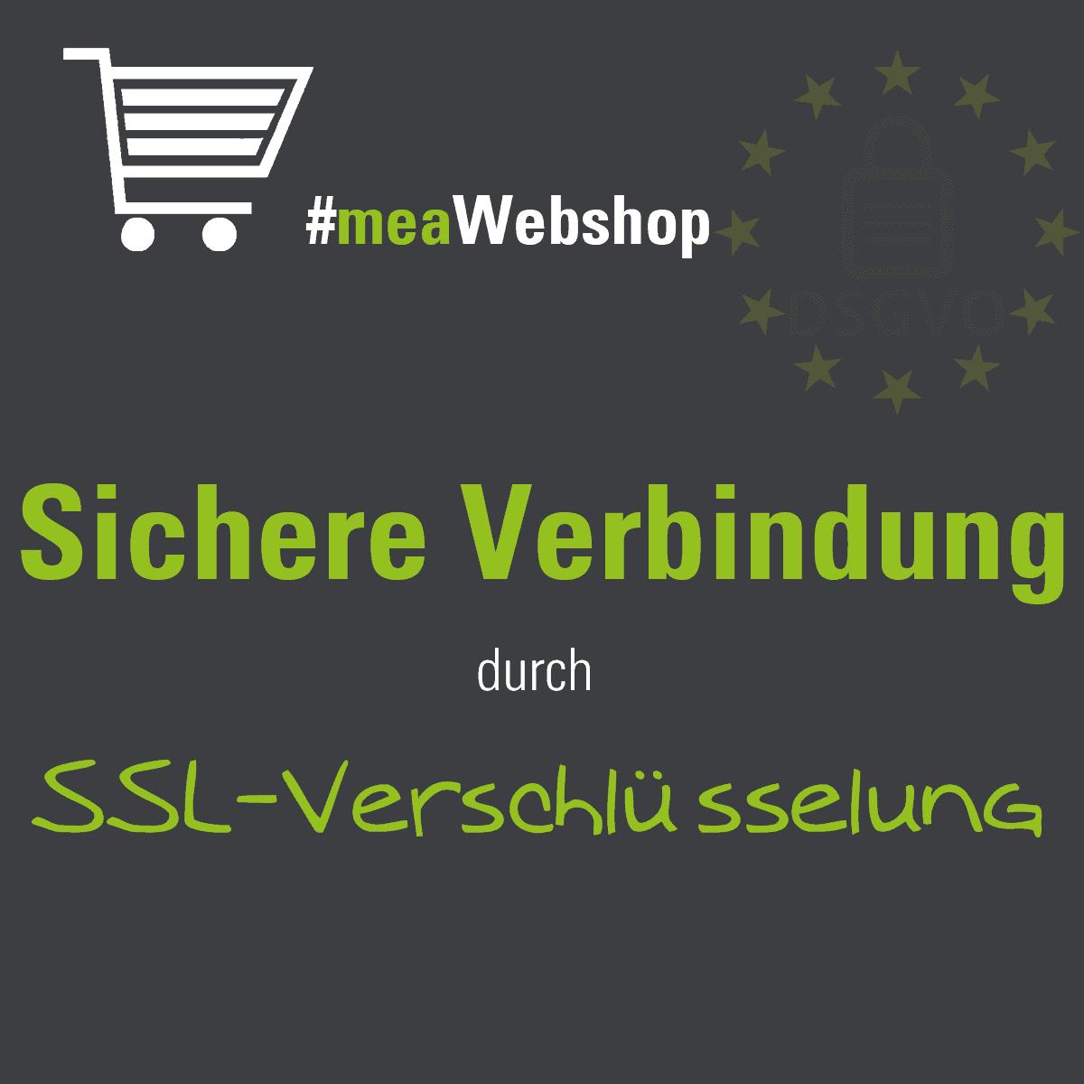 Sichere Verbindung mit SSL-Verschlüsselung